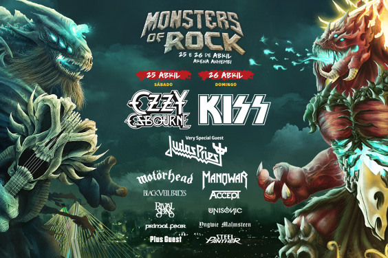 Imagem para MDC - Monster of Rock 2015 Cartaz