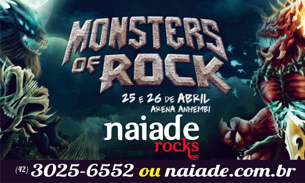 Logo para Naiade - Naiade Rocks - Monster of Rock