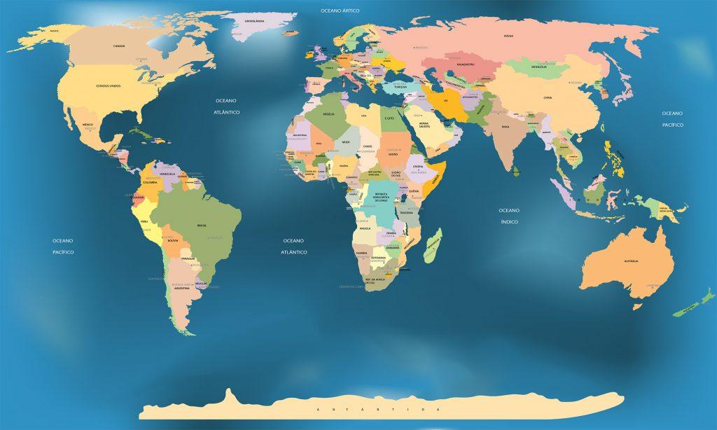 Imagem para Mundo de Chico - Mapa mundi Super Shen